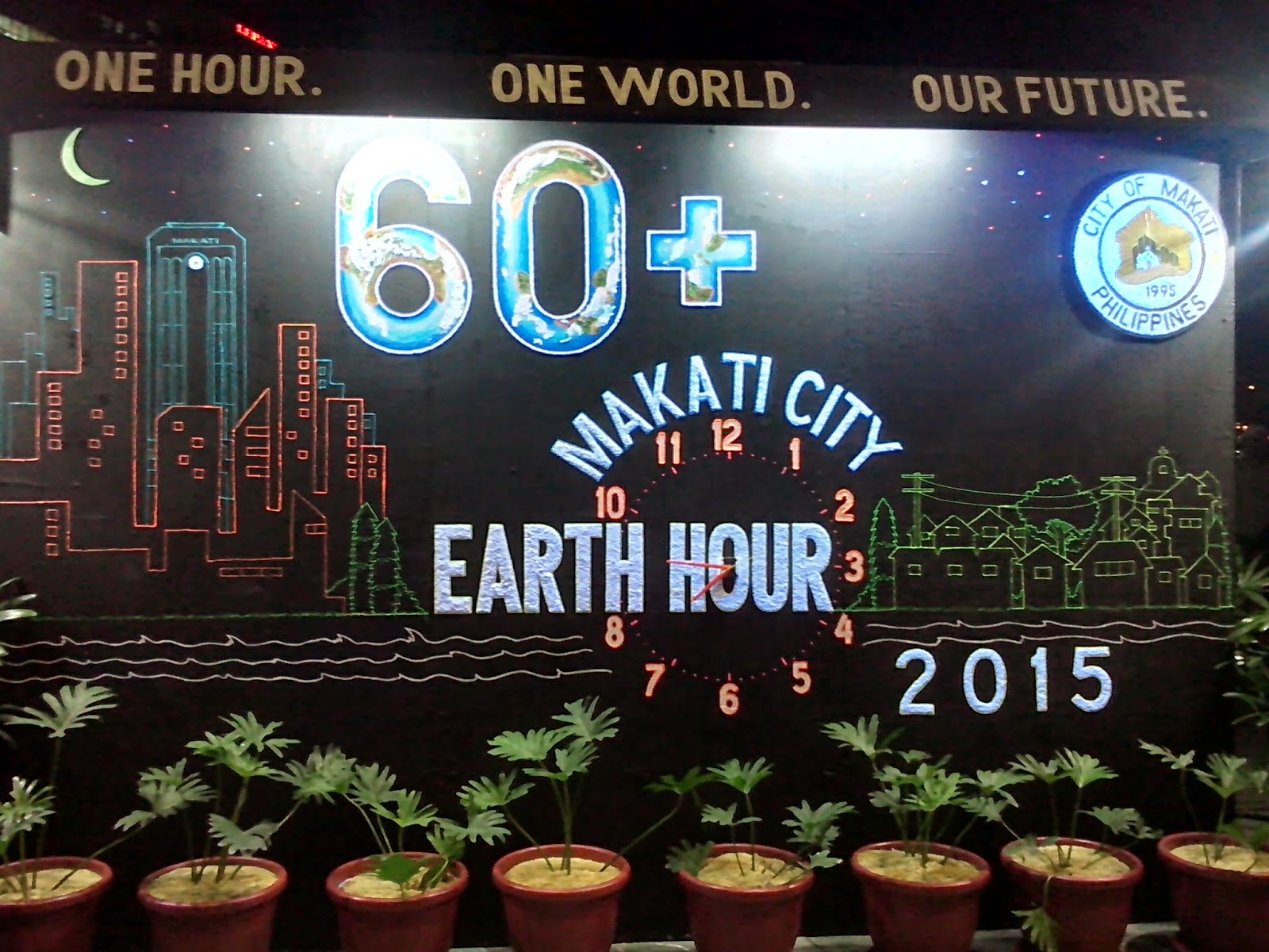 Earth Hour 2015 | Makati City, PH