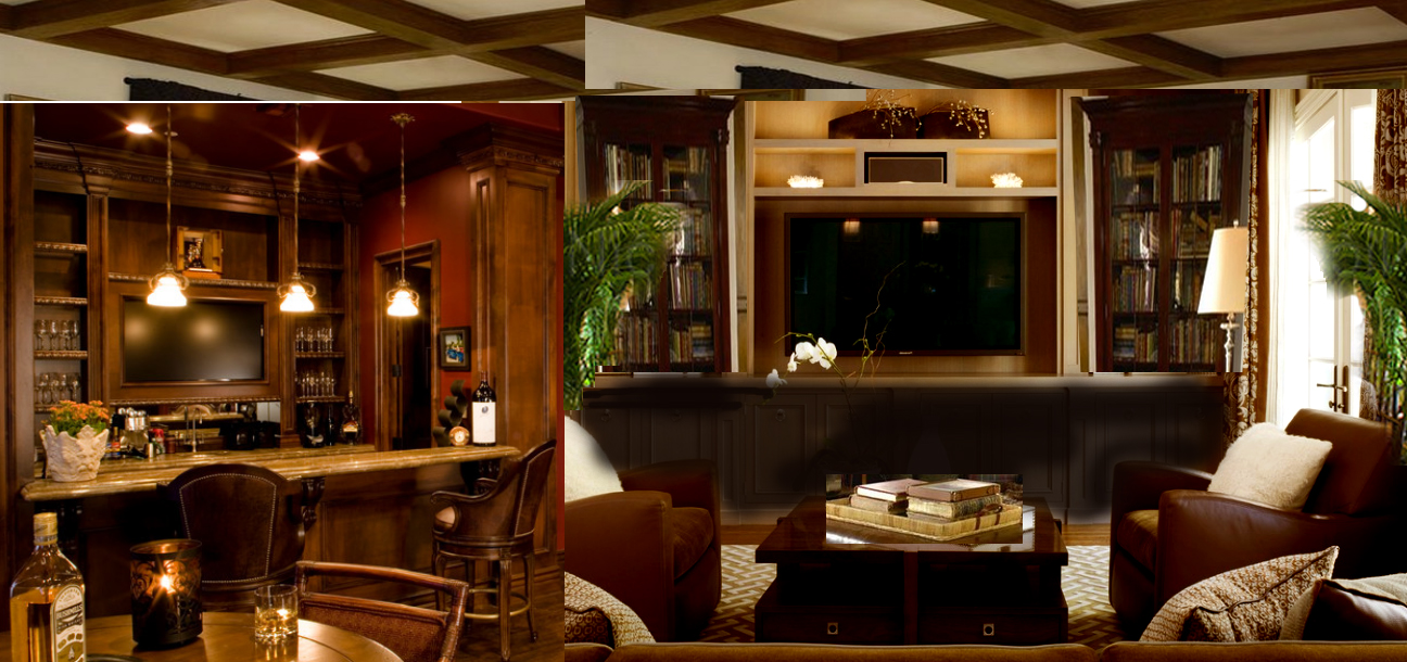 Our Dream Home In Naples Man S Cave Amp His Office