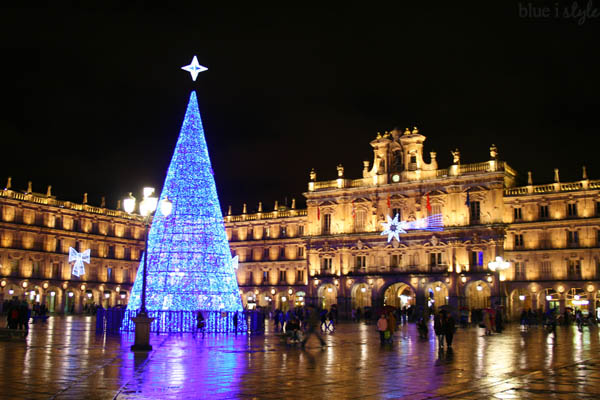Plaza Mayor Christmas Tree, Salamanca, Spain