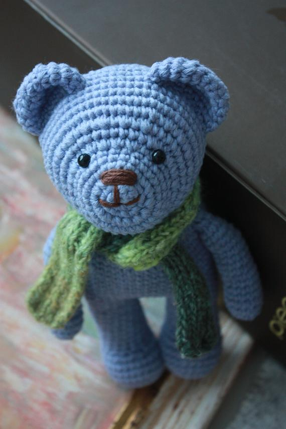 Crochet Pattern Amigurumi Bear : HAPPYAMIGURUMI: New crocheted amigurumiTeddy Bears