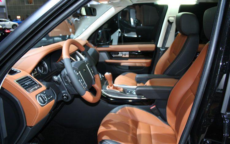 Free Images Online: 2010 range rover sport interior