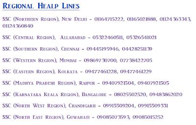 Regional Help Lines