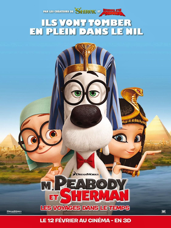 Cuộc Phiêu Lưu Của Mr.Peabody và Cậu Bé Sherman - Mr. Peabody & Sherman