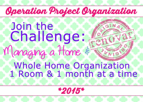 "Join the Challenge! We are both focusing on Craft ""Rooms"" this month. Join in on the fun, click the link for our email to join."