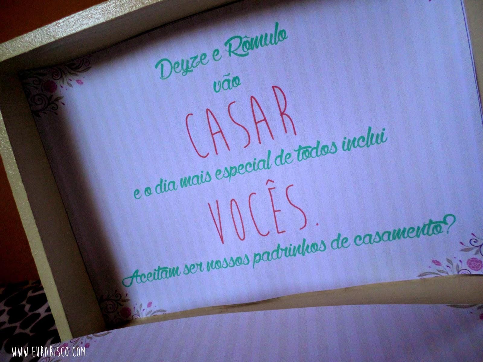 Convite Dos Padrinhos Eu Rabisco Ilustrações Artes Dicas E Muito
