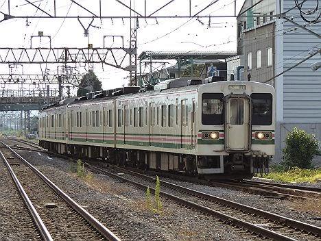 吾妻線 大前行き 107系
