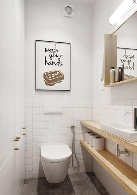 Bidet Para Baños Pequenos:blog de decoração – Arquitrecos: Banheiros estreitos, soluções