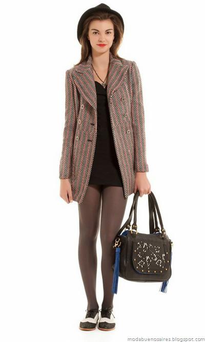 Abrigos invierno 2012. Uma otoño invierno 2012. Blog de moda.