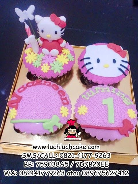 Cupcake Hello Kitty Cute Daerah Surabaya - Sidoarjo