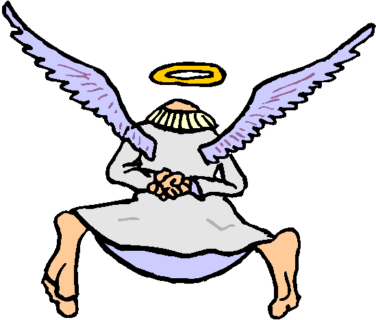 Flying Angel Free Clipart