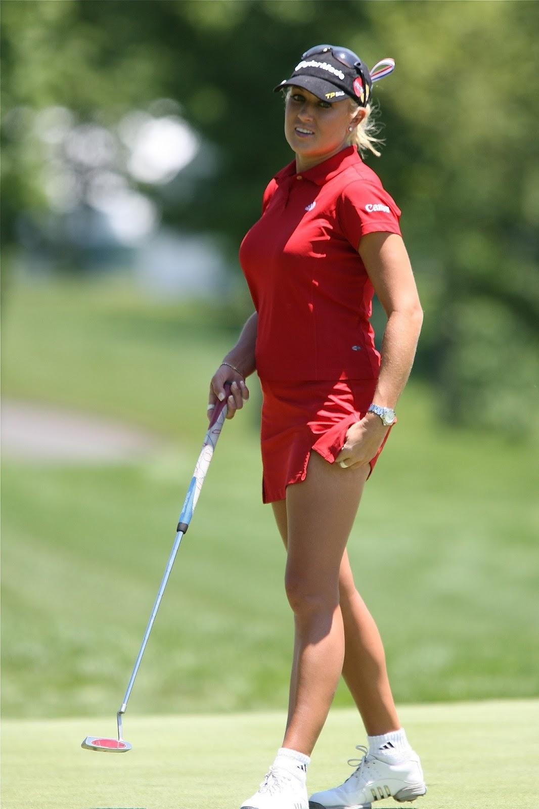 Pin on golf hotties