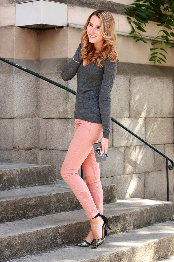 top manoukian jeans pastel zara