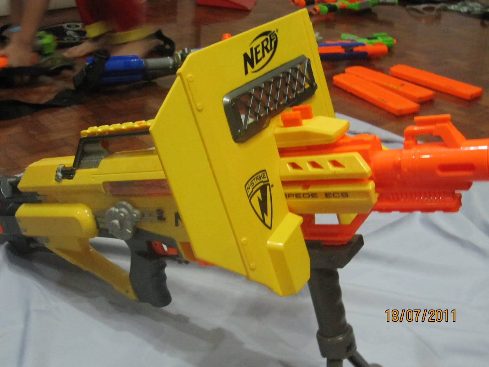 Write For Fun My Nerf Gun Equipment Collection Part 2