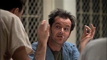 Jack Nicholson.(1975)
