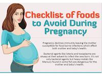 senarai makanan yang berbahaya semasa mengandung