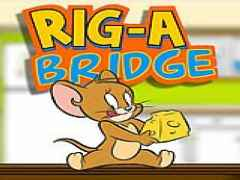 Tom and Jerry rig a bridge