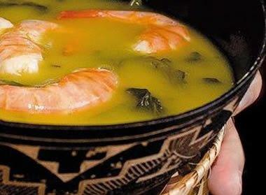 Receita de Sopa Paraense (Tacacá)