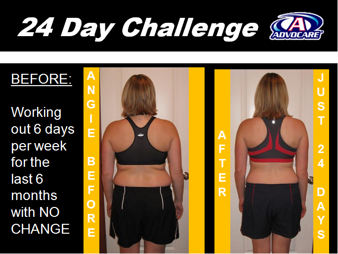 Amazing Results from the 24 Day Challenge | Our Weight ...