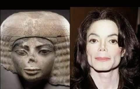 Parecido de Michael con Nakhtmin