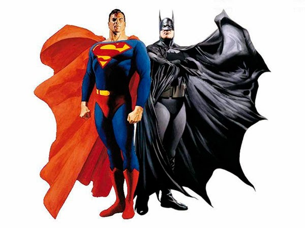 Batman y Superman por Alex Ross