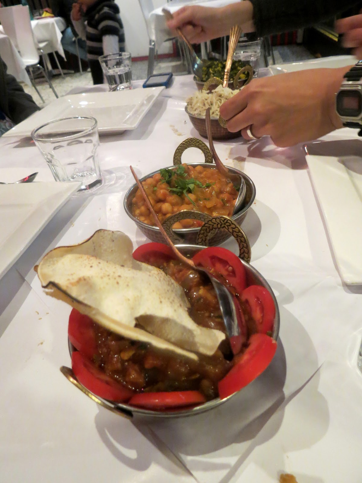Where 39 s the beef vegetarians in melbourne atithi restaurant for Atithi indian cuisine
