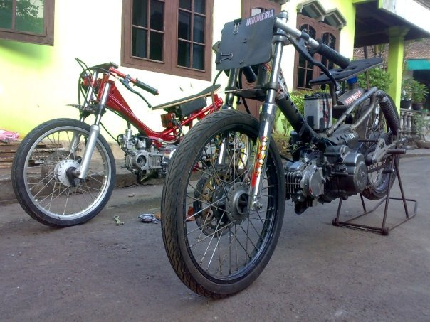 MOTOR DRAG jupiter modif ceper motor racing