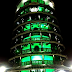 Menara Condong Teluk Intan diwaktu malam