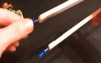 Experimentos Caseros cortadora foam chinchetas