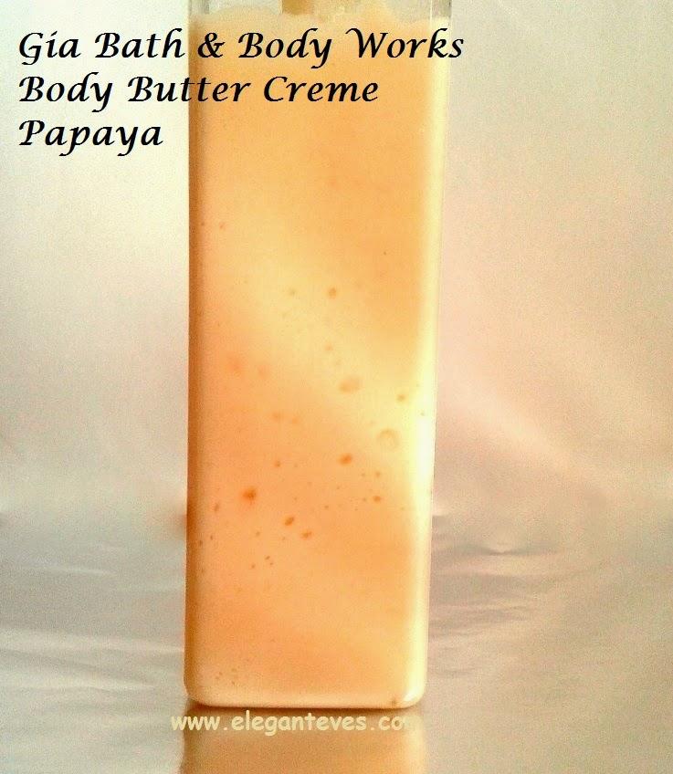 Gia Bath & Body Works Papaya Body Butter Crème