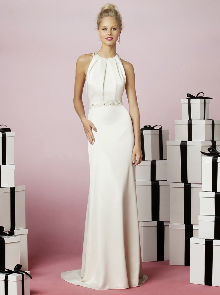 Long white casual wedding dresses for second marriages ideas for White dress after wedding