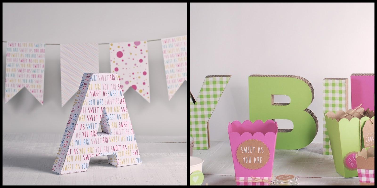 letras de decoracion infantil