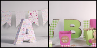 letras de cartn decoradas selfpackaging self packaging selfpacking