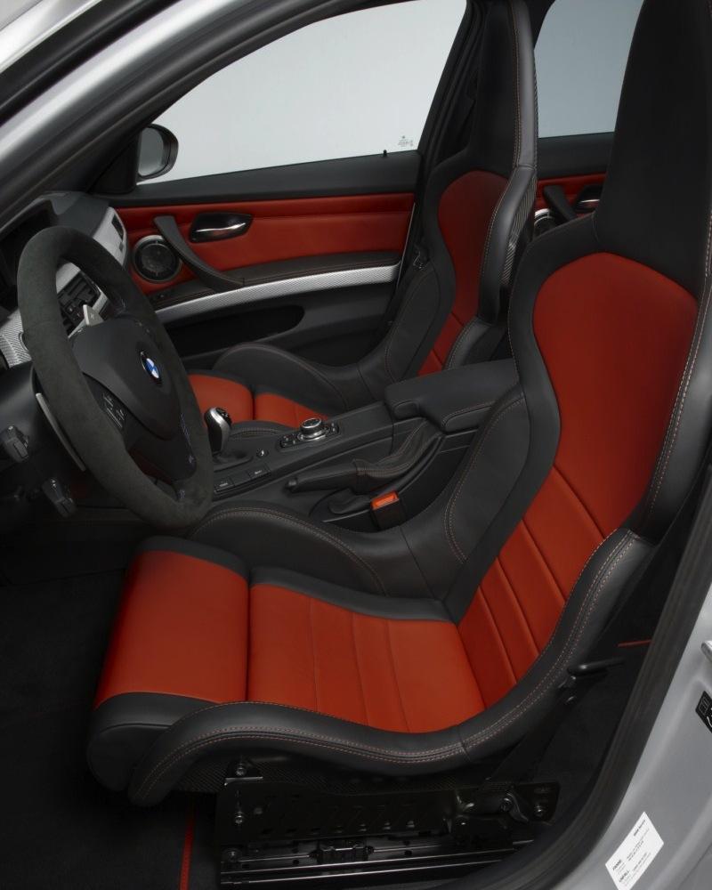 Bmw M3 Interior: BMW M3 CRT Saloon