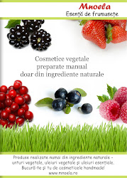 Cosmetice vegetale preparate manual