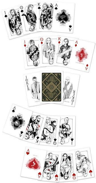 baraja de poker juego de tronos - Juego de Tronos en los siete reinos
