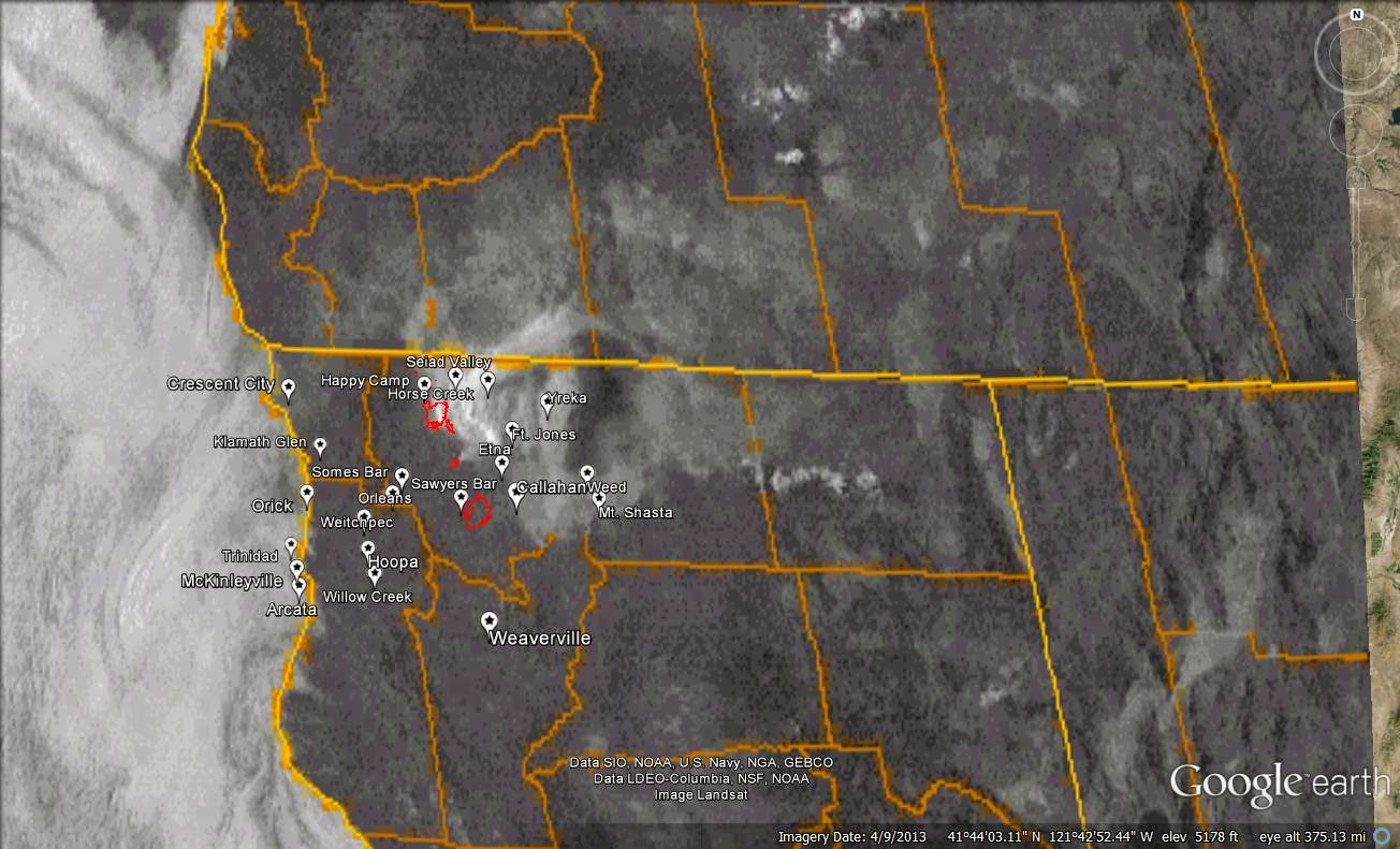 august 27 2014 unhealthy air quality in yreka ft jones from increased fire activity on the happy camp complex
