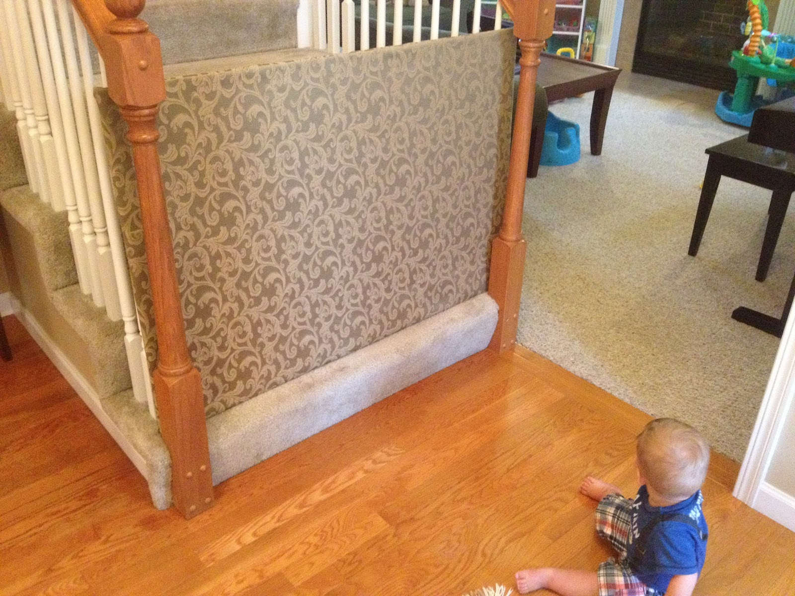 A Pair of Schues!: DIY Baby Gate