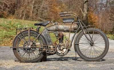 gambar sepeda motor lawas