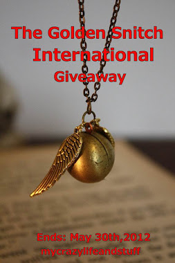 Harry potter Golden snitch giveaway! (International)