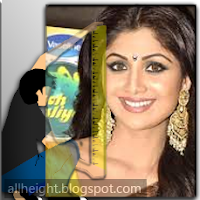 What is the height of Shilpa Shetty?
