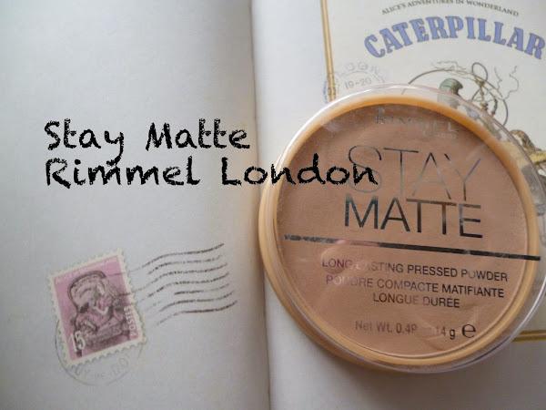 Reseña: Polvos Stay Matte de Rimmel London
