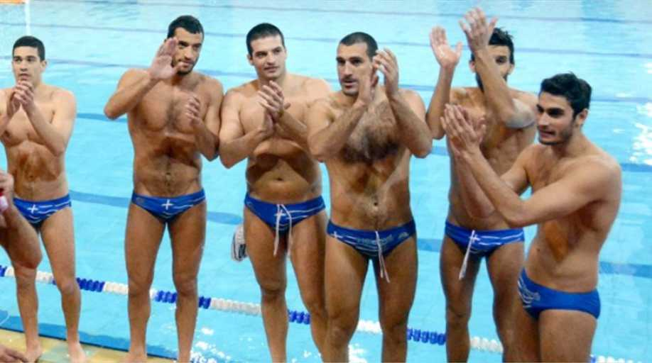 ken h in the 212 greek water polo team wins bronze in