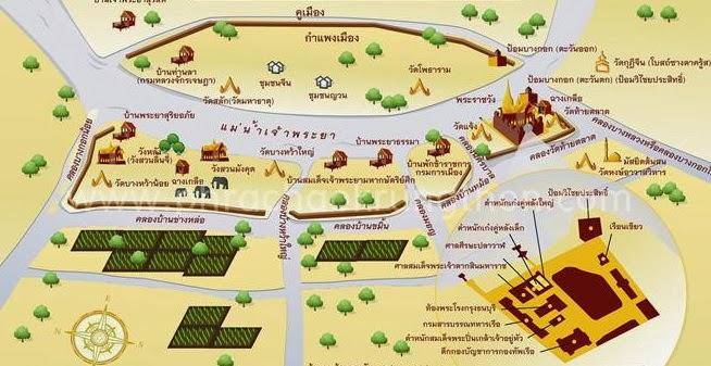 แผนที่กรุงธนบุรี