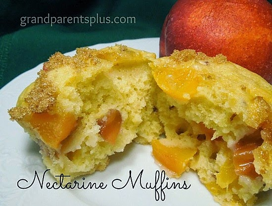 Peach-Nectarine Muffins @ GrandParents Plus