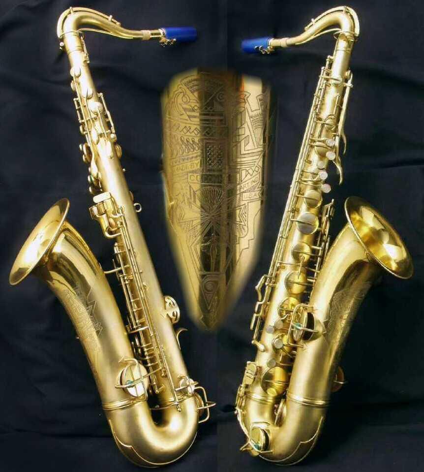 The Saxophone Corner: Vintage American Saxophones: Conn