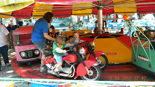 Children's Rides at Santa's Land in Cherokee, NC