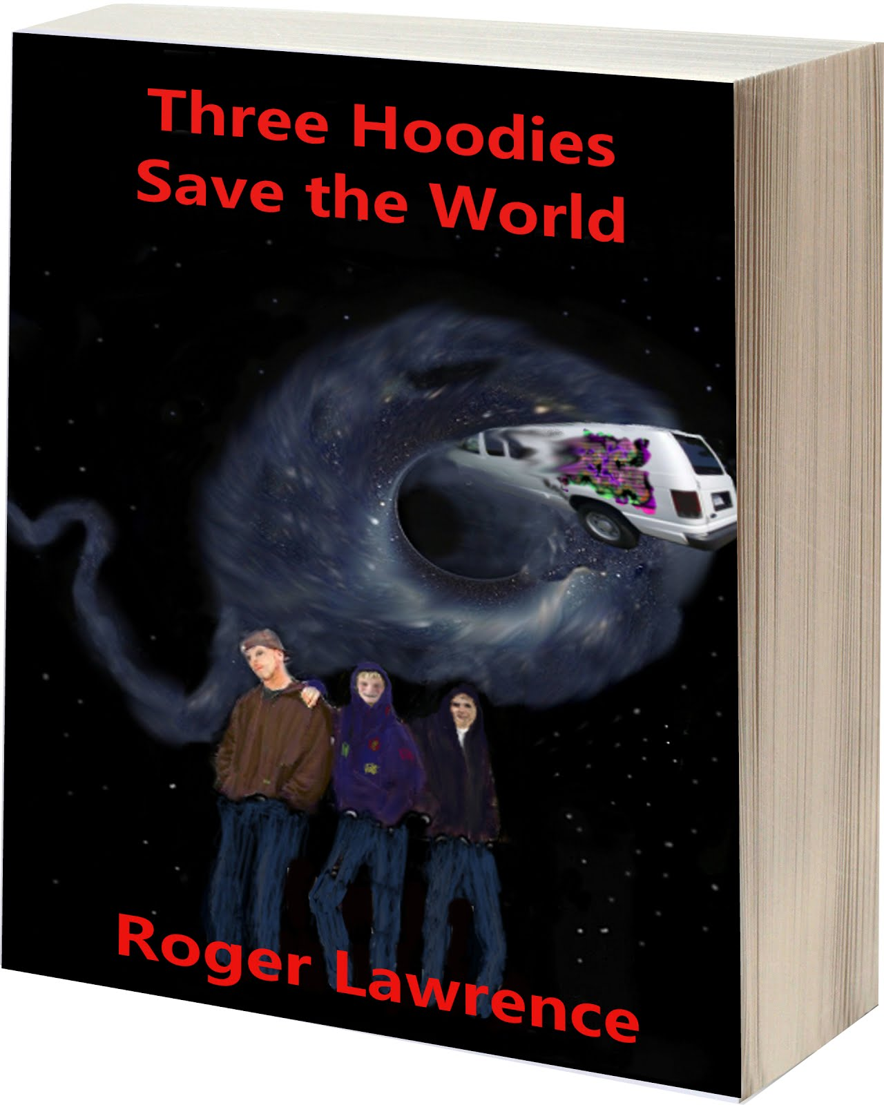Three Hoodies Save the World