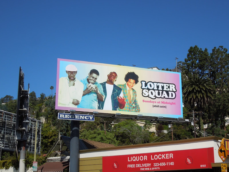 Loiter Squad season 2 billboard