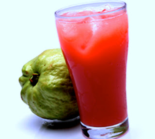 Fresh Red Guava Juice