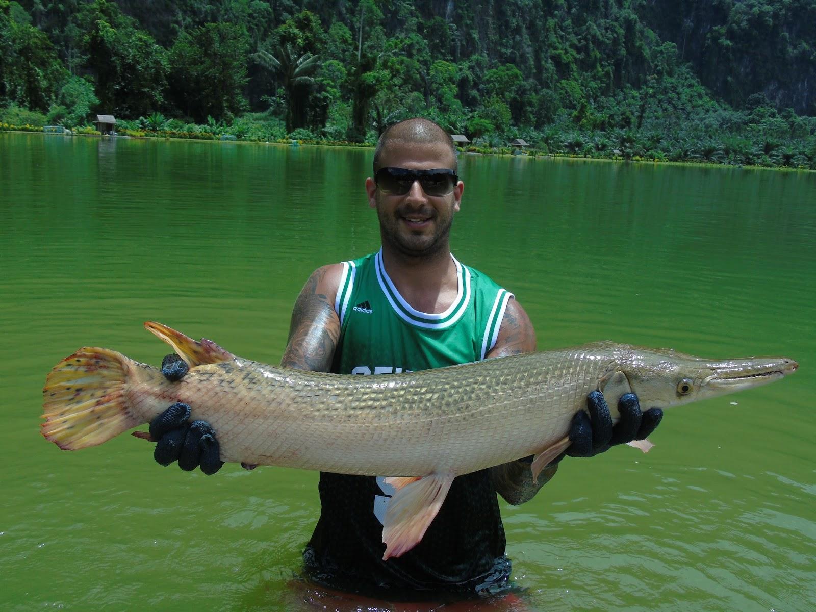 экзотическая рыбная ловля